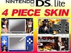 nintendo DS Lite - WWE THE UNDERTAKER - 4 Piece Sticker Skin vinyl