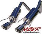 MBRP Exhaust 304 SS 05-08 Corvette C6 Dual Rear Exit Round Tips S7000304