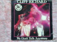 "7"" Single - Cliff Richard - We don´t Talk Anymore"