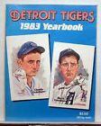 1983 Detroit Tigers Baseball Yearbook