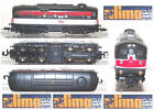LIMA 206 VINTAGE LOCOMOTORE D341 BO.BO. NEW-HEAVEN USA LIVREA ORIGINALE SCALA-N