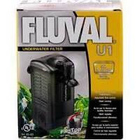 HAGEN FLUVAL U1 INTERNAL POWER FILTER TANK AQUARIUM