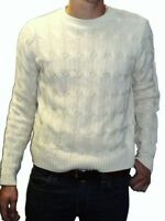 MENS 80s cable knit jumper vtg retro mod xs s m l xl