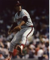 JIM BARR CALIFORNIA ANGELS UNSIGNED 8X10 PHOTO