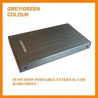 "Sumvision 100GB External Portable 2.5"" USB Hard Drive"