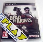DEAD TO RIGHTS RETRIBUTION PS3 NUEVO PRECINTADO SEALED