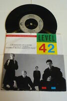 "LEVEL 42 - Lessons In Love - 1986 UK limited edition 7"" Vinyl Single"
