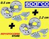 DISTANZIALI SPARCO 5 + 12 mm CON BULLONI - ALFA 147 - 156 - GT - GTV - SPIDER