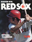 1976 Boston RED SOX Official Yearbook First Edition