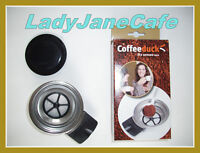 NEW refillable Coffeeduck Senseo LATTE or QUADRANTE HD7850, HD7860, HD7825 etc