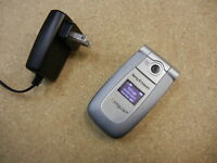 Sony Ericsson z500 Tri-Band GSM Camera AT&T Cell Phone