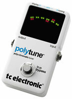 NEW! TC Electronic POLYTUNE Chromatic Polyphonic Tuner