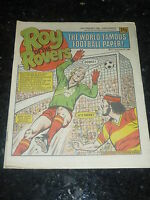 ROY OF THE ROVERS - Year 1986 - Date 22/02/1986 - UK Paper Comic