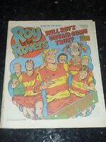ROY OF THE ROVERS - Year 1986 - Date 10/05/1986 - UK Paper Comic