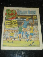 ROY OF THE ROVERS - Year 1986 - Date 21/06/1986 - UK Paper Comic