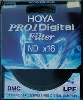 Genuine New Hoya 58mm Thin Slim  Pro1 Digital Multi Coated ND16 filter