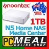 Noontec GigaLink N5 Home NAS Media Center 1TB 1000GB Media and Cloud Storage