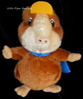 "Wonder Pet Linny Guinea Pig Hamster Plush Fisher Price Stuffed Toy Doll 2008 10"""