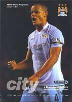 MAN CITY v BLACKBURN 2011/2012 MINT PROGRAMME