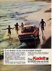 Tia2 Pubblicità Advertising Werbung 1967 Opel Kadett GM 1000
