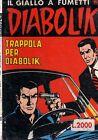Diabolik 256 Trappola per Diabolik del 2-1989 Bollino sovraprezzo