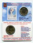 VATICAN - 50 CENT 2011 + 1 TIMBRE - COINCARD N°1 - BRILLANT UNIVERSEL
