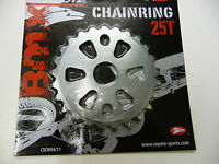 New Coyote BMX Alloy Sprocket / Chainwheel 25T - 5mm COLOUR GREY