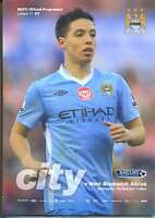 MAN CITY v WBA 2011/2012 MINT PROGRAMME