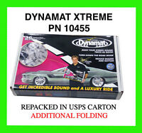 NEW DYNAMAT Xtreme BULK PACK 10455 9 sheets 36 SQ FT + FREE ROLLER