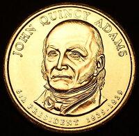 2008 P John Q. Adams Presidential Dollar ~ Pos B ~ From U.S. Mint Roll