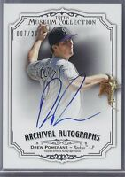 2012 Topps Museum Collection Archival Drew Pomeranz ON CARD Auto /299 AA-DP2
