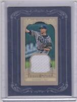 Jeremy Hellickson 2012 Topps Gypsy Queen Mini Framed Jersey Relic White Swatch