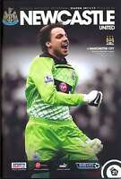 NEWCASTLE v MAN CITY 2011/2012 MINT PROGRAMME