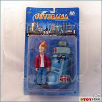 Futurama Fry Carded Moore Collectible Action Figure - worn packaging