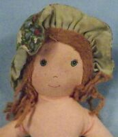Vintage Amy Cloth Doll Holly Hobbie's Friend Knickerbocker Sweet No Dress 9 inch