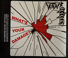 TEST ICICLES what's your damage? promo cd single