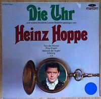 HEINZ HOPPE Die Uhr und andere berühmte Loewe-Balladen LP/GER