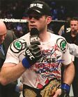 FORREST GRIFFIN SIGNED 8X10 PHOTO PROOF COA AUTOGRAPHED UFC MMA CHAMPION 3