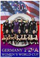 2011 American Women's World Cup Soccer Team Poster.