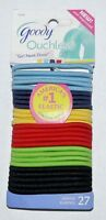 Goody Ouchless Comfort Pony Tail Holders Hair Ties GIRL NEXT DOOR 27 Pk #15219