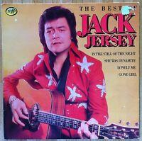 JACK JERSEY The Best Of Jack Jersey LP/DUTCH