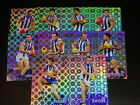 2008 AFL SELECT CLASSIC HOLOFOIL TEAM SET OF 10 CARDS KANGAROOS