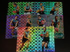 2008 AFL SELECT CLASSIC HOLOFOIL TEAM SET OF 10 CARDS PORT ADELAIDE