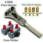 Watch Repair tool - Waterproof Screw Back Case Opener #2688 & Case Holder #5090