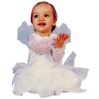 WHITE ANGEL Halloween dress COSTUME ~ 3-12mos child infant baby