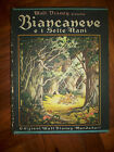WALT DISNEY - BIANCANEVE E I SETTE NANI - PRIMA EDIZIONE 1940 MONDADORI (AH)