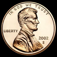 2002 S Lincoln Memorial Penny ~ Gem Proof