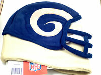 NFL Team Helmet Fleece Hat Officially Licensed St. Louis Rams - Medium