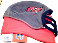 NFL Team Helmet Fleece Hat Officially Licensed Tampa Bay Buccaneers- Medium
