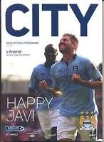 MAN CITY v ARSENAL 2012/13 MINT PROGRAMME MANCHESTER